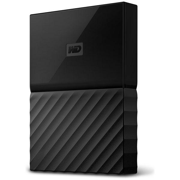 WDBS4B0020BBK-JESN ウエスタンデジタル USB3.0対応 ポータブルハードディスク 2.0TB(ブラック) My Passport(2018年発売モデル)