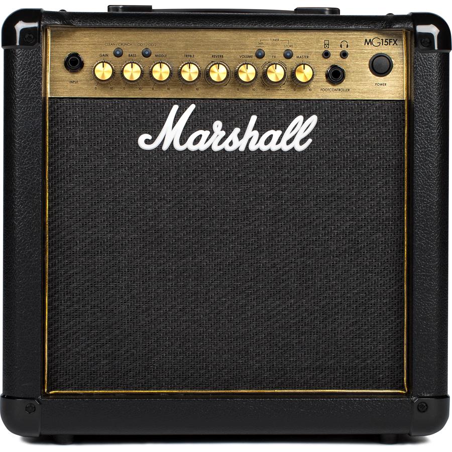 【250円OFF■当店限定クーポン 5/1 23:59迄】MG15FX マーシャル 15Wギターアンプ正規メーカー保証付属 Marshall MG GOLDシリーズ