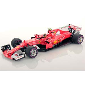 1/18 Scuderia Ferrari SF70H 4th Place Australian GP 2017【LS18F108】 LOOKSMART
