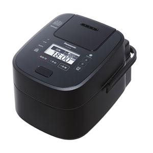 SR-VSX108-K パナソニック スチーム&可変圧力IHジャー炊飯器(5.5合炊き) ブラック Panasonic Wおどり炊き【送料無料】