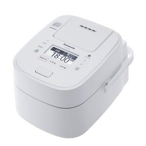 SR-VSX108-W パナソニック スチーム&可変圧力IHジャー炊飯器(5.5合炊き) ホワイト Panasonic Wおどり炊き【送料無料】