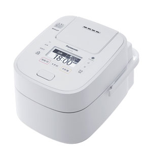 SR-VSX188-W パナソニック スチーム&可変圧力IHジャー炊飯器(1升炊き) ホワイト Panasonic Wおどり炊き