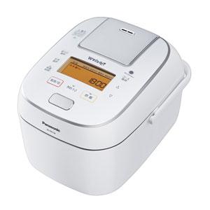 SR-PW108-W パナソニック 可変圧力IHジャー炊飯器(5.5合炊き) ホワイト Panasonic Wおどり炊き