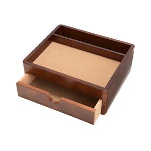 20-104 茶谷産業 Wooden Case オーバーナイター Made in Japan 小物収納