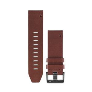 010-12496-09 ガーミン Quick Fit バンド 22mm Brown Leather クイックフィットバンド 22mm ブラウン レザー [0101249609]【返品種別B】
