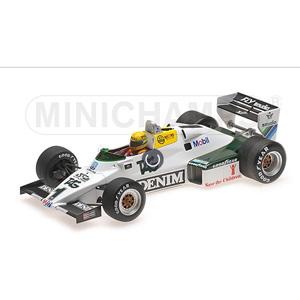 1/18 ウィリアムズ フォード FW08C A .セナ ドニントンパーク イングランド 7月19日 1983 セナ・コレクション【547831801】 ミニチャンプス