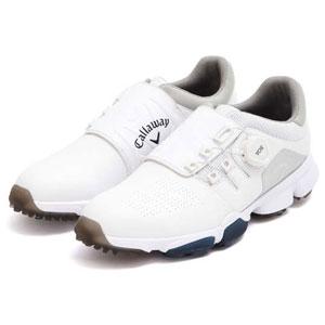 CW 8983501-030 260 キャロウェイ MEN'S ゴルフシューズ (ホワイト・26.0cm) Callaway HYPERCHEV BOA 8983501-030