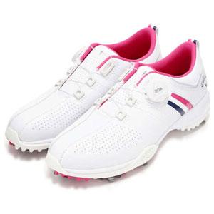 CW 8983802-090 245 キャロウェイ WOMEN'S ゴルフシューズ (ピンク・24.5cm) Callaway AEROSPORT BOA WM 8983802-090