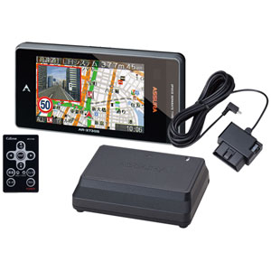 AR-373GS 117 セルスター セパレート型 GPS内蔵 レーダー探知機 + OBDIIアダプターセット CELLSTAR ASSURA(アシュラ)