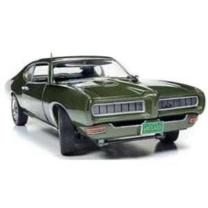 1/18 1968 ポンティアック GTO ハードトップ 50th Anniversary(グリーン)【AMM1128】 アメリカンマッスル
