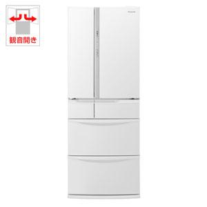 (標準設置料込)NR-FV45S3-W パナソニック 451L 6ドア冷蔵庫(ハーモニーホワイト) Panasonic