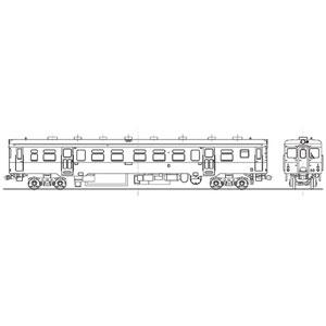 [鉄道模型]ワールド工芸 (HO) 16番 国鉄 キハ20 0番代 気動車 組立キット