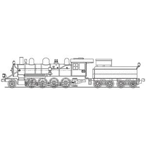 [鉄道模型]ワールド工芸 (N) 三菱鉱業茶志内 炭礦専用鉄道 9217号 蒸気機関車 組立キット