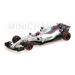 1/43 ウィリアムズ マルティニ レーシング メルセデス FW40 ゲイリー・パフェット バーレーン F1 テスト 2017 【417170041】 ミニチャンプス