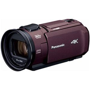HC-VX1M-T パナソニック デジタル4Kビデオカメラ「HC-VX1M」(ブラウン)