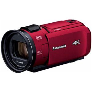 HC-VX1M-R パナソニック デジタル4Kビデオカメラ「HC-VX1M」(レッド)