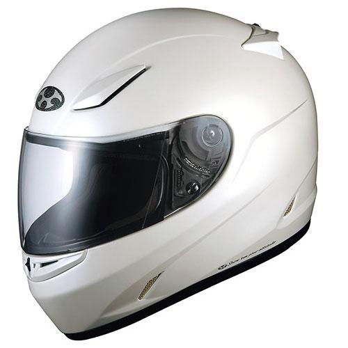 FFR3 PWH XL OGKカブト フルフェイスヘルメット(パールホワイト XL(61-62cm未満)) FF-RIII