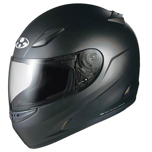 FFR3 FBK M OGKカブト フルフェイスヘルメット(フラットブラック M(57-58cm)) FF-RIII