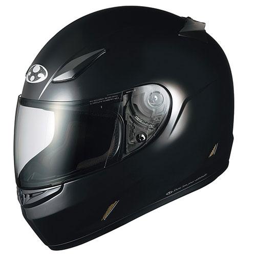 FFR3 BK S OGKカブト フルフェイスヘルメット(ブラックメタリック S(55-56cm)) FF-RIII