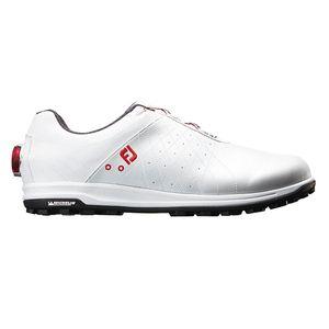 56205W245 フットジョイ メンズ・スパイクレス・ゴルフシューズ(ホワイト・24.5cm) TREADS Boa #56205