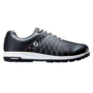 56211W25 フットジョイ メンズ・スパイクレス・ゴルフシューズ(ブラック・25.0cm) TREADS Lace #56211