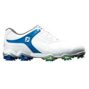 55308W255 フットジョイ メンズ・ゴルフシューズ (ホワイト+ブルー・25.5cm) TOUR-S #55308
