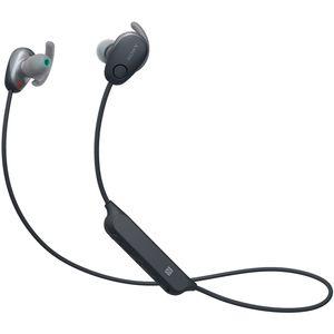 WI-SP600N B ソニー ノイズキャンセリング機能搭載Bluetooth対応ダイナミック密閉型カナルイヤホン(ブラック) SONY SPシリーズ