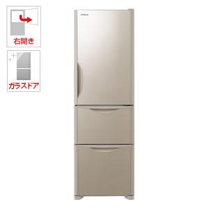 R-S32JV-XN 日立 315L 3ドア冷蔵庫(クリスタルシャンパン)【右開き】 HITACHI