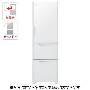 R-S32JVL-XW 日立 315L 3ドア冷蔵庫(クリスタルホワイト)【左開き】 HITACHI