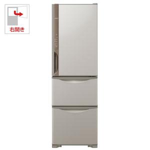 R-K32JV-T 日立 315L 3ドア冷蔵庫(ライトブラウン)【右開き】 HITACHI