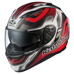 KAMUI2HAMER FBKRD XS OGKカブト フルフェイスヘルメット(フラットブラックレッド XS) KAMUI-II HAMMER