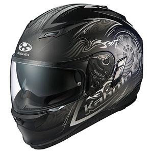 KAMUI2BLAZE FBKSI M OGKカブト フルフェイスヘルメット(フラットブラックシルバー M) KAMUI-II BLAZE