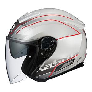 ASAGI BEAM PWH L OGKカブト オープンフェイスヘルメット(パールホワイト L) ASAGI BEAM