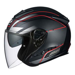 ASAGI BEAM FBK XL OGKカブト オープンフェイスヘルメット(フラットブラック XL) ASAGI BEAM