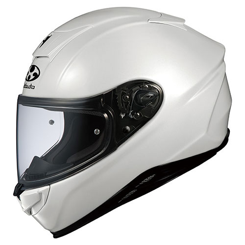 AEROBLADE5 PWH XL OGKカブト フルフェイスヘルメット(パールホワイト XL) AEROBLADE-5
