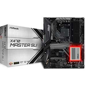 X470 MASTER SLI ASRock ATX対応マザーボードX470 MASTER SLI