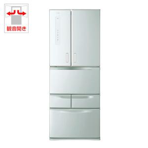 (標準設置料込)GR-M47FX-S 東芝 473L 6ドア冷蔵庫(シルバー) TOSHIBA