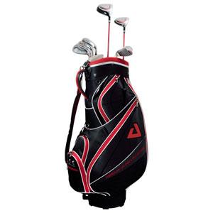 AGCS-6781 RH STEEL アメリカン・ゴルファーズ・コレクション AGC キャディバック付9本セット (アイアンスチール) (右用) American Golfer's Collection