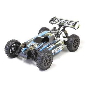 1/8 エンジンレーシングバギー インファーノ NEO 3.0 レディセット(カラータイプ1 ブルー)【33012T1】 京商