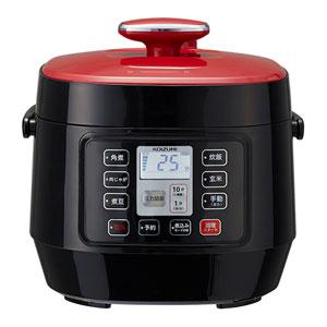 KSC-3501-R コイズミ マイコン電気圧力鍋 レッド KOIZUMI