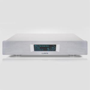 D2-SILVER ルーミン ネットワークプレーヤー(シルバー) LUMIN