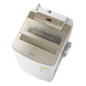 (標準設置料込)NA-FW80S6-N パナソニック 8.0kg 洗濯乾燥機 シャンパン Panasonic