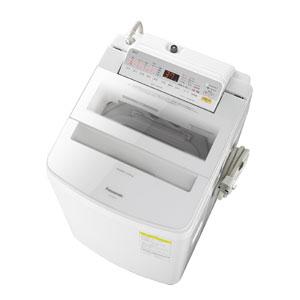 (標準設置料込)NA-FW80S6-W パナソニック 8.0kg 洗濯乾燥機 ホワイト Panasonic