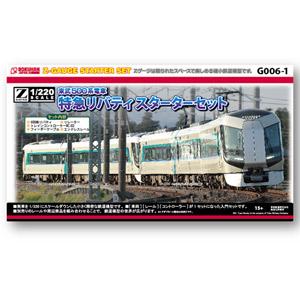 [鉄道模型]六半 (Z) G006-1 東武500系電車 特急リバティ スターターセット