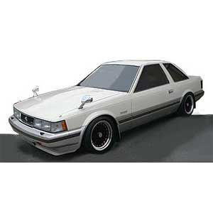1/43 Toyota Soarer 2800GT Limited(Z10) White/Gold【IG1393】 ignitionモデル