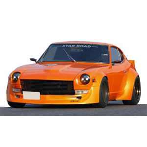 1/43 Nissan Fairlady Z (S30) STAR ROAD Orange【IG1421】 ignitionモデル