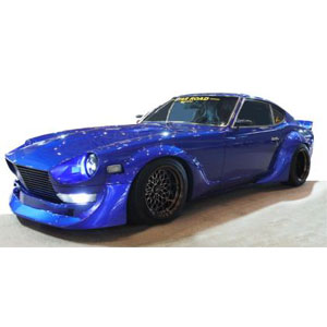 1/43 Nissan Fairlady Z (S30) STAR ROAD Blue【IG1423】 ignitionモデル