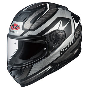 AEROBLADE5 RUSH FBKSIL XXL OGKカブト フルフェイスヘルメット(フラットブラックシルバー XXL) AEROBLADE-5 RUSH