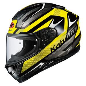 AEROBLADE5 RUSH BKYEL XXL OGKカブト フルフェイスヘルメット(ブラックイエロー XXL) AEROBLADE-5 RUSH