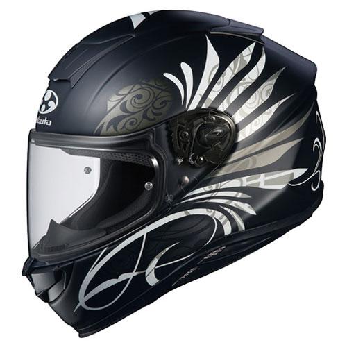 AEROBLADE5 LB FBK S OGKカブト フルフェイスヘルメット(フラットブラック-1 S) AEROBLADE-5 LB